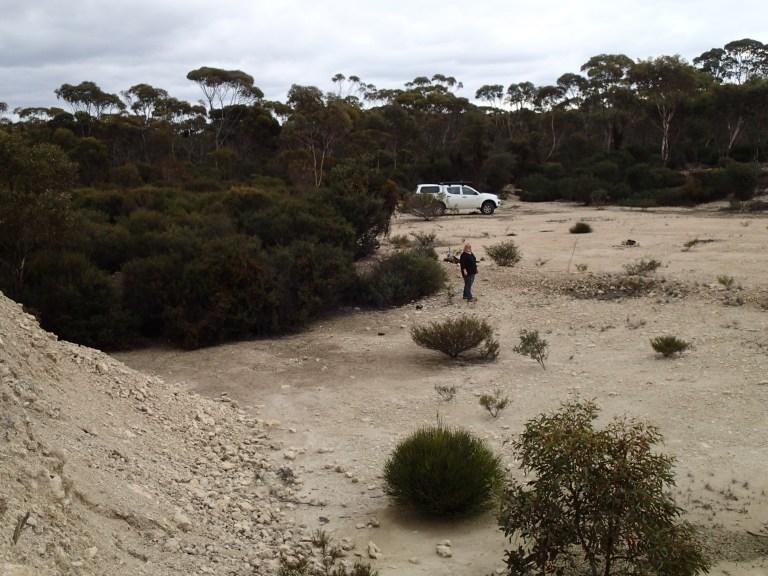Limestone quarry/pit
