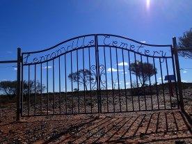 Very sparse cemetery
