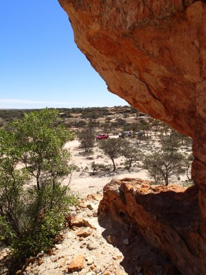 On the Mt Magnet tourist drive