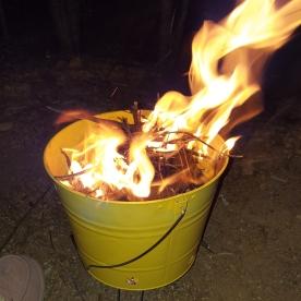 BBQ ablaze