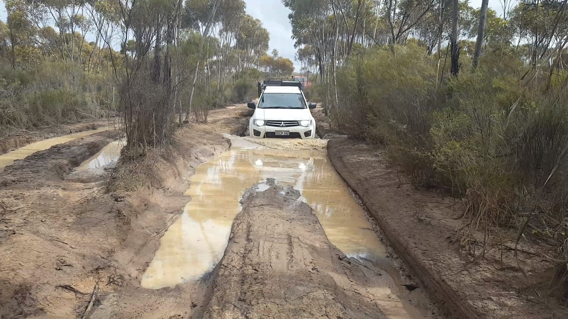 Another muddy puddle to cross
