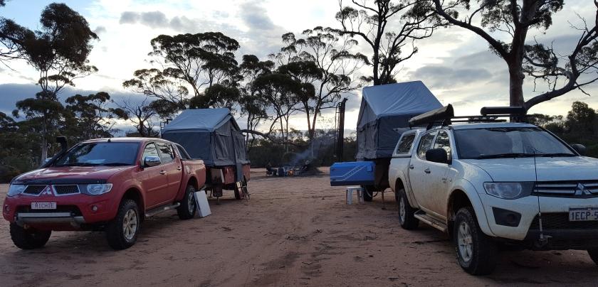 Thursday Rock campsite