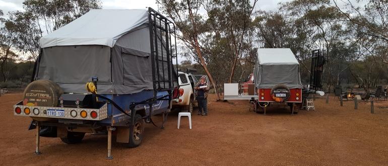Victoria Rock Campsite